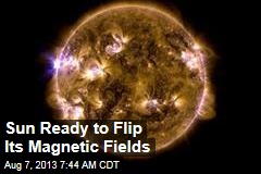 Sun Ready to Flip Its Magnetic Fields