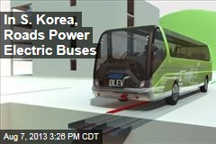 In S. Korea, Roads Power Electric Cars