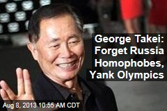 George Takei: Forget Russia Homophobes, Yank Olympics
