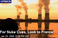 For Nuke Cues, Look to France