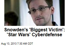 Snowden's 'Biggest Victim': 'Star Wars' Cyberdefense