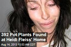 392 Pot Plants Found at Heidi Fleiss' Home