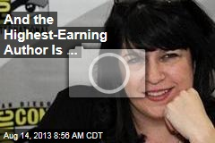 And the Highest-Earning Author Is ...