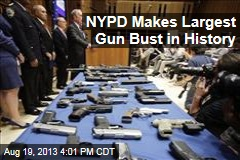 NYPD Makes Largest Gun Bust in History