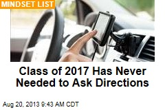 Class of 2017 Has Never Needed to Ask Directions