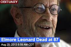 Elmore Leonard Dead at 87