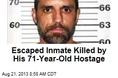 Escaped Inmate Killed by His 71-Year-Old Hostage