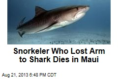 Snorkeler Who Lost Arm to Shark Dies in Maui