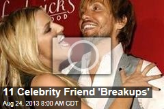 11 Celebrity Friend 'Breakups'