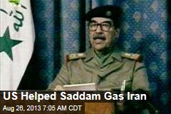 US Helped Saddam Gas Iran