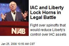 IAC and Liberty Lock Horns in Legal Battle