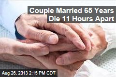 Couple Married 65 Years Die 11 Hours Apart