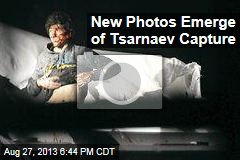 New Photos Emerge of Tsarnaev Capture