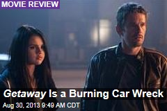 Getaway Is a Burning Car Wreck