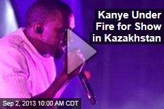 Kanye Under Fire for Show in Kazakhstan