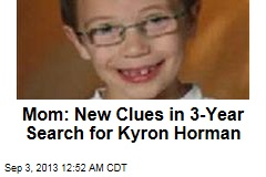 Mom: New Clues in Kyron Horman Search