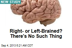 Right- or Left-Brained? There's No Such Thing