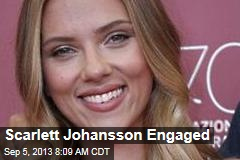 Scarlett Johansson Engaged