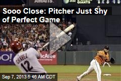 Sooo Close: Pitcher Just Shy of Perfect Game