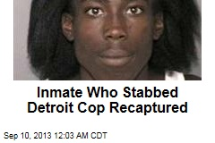 Inmate Who Stabbed Detroit Cop Recaptured