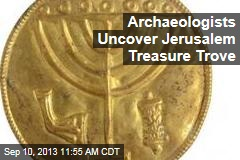 Archaeologists Uncover Jerusalem Treasure Trove