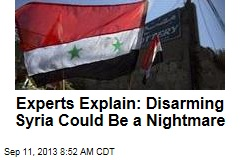 Why Disarming Syria Could Be a Nightmare