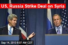 US, Russia Strike Deal on Syria
