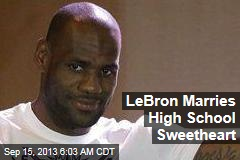LeBron Gets Married