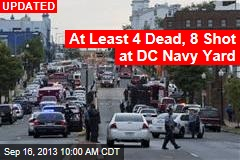 'Active Shooter' Injures 1 at DC Navy Yard