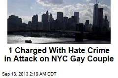 Man Busted in Attack on NYC Gay Couple