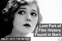 Lost Part of Film History Found in Barn