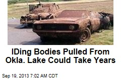 IDing Bodies Pulled From Okla. Lake Could Take Years