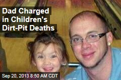 Dad Charged in Children's Dirt-Pit Deaths