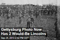 Gettysburg Photo Now Has 2 Would-Be Lincolns