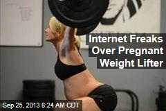 Internet Freaks Over Pregnant Weight Lifter