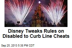 Disney Tweaks Rules on Disabled to Curb Line Cheats