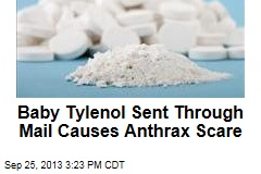 Baby Tylenol Sent Through Mail Causes Anthrax Scare