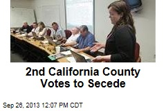 Another County Votes to Secede From California