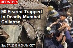 Dozens Feared Trapped in Latest Mumbai Collapse