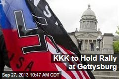 KKK to Hold Rally at Gettysburg
