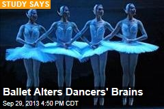 Ballet Alters Dancers' Brains to Spin Without Dizziness