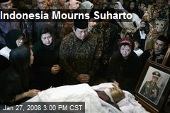 Indonesia Mourns Suharto