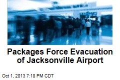 Packages Force Evacuation of Jacksonville Airport