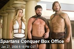 Spartans Conquer Box Office