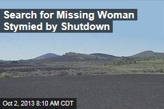 Shutdown Stymies Search for Woman Missing in Nat'l Park