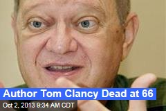 Author Tom Clancy Dead at 66