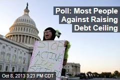 Poll: Most People Against Raising Debt Ceiling