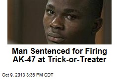 Man Sentenced for Firing AK-47 at Trick-or-Treater