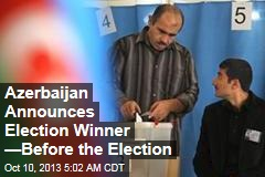Azerbaijan Reveals Next President... Before Vote