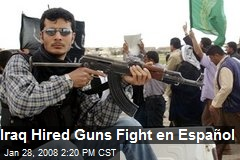 Iraq Hired Guns Fight en Español